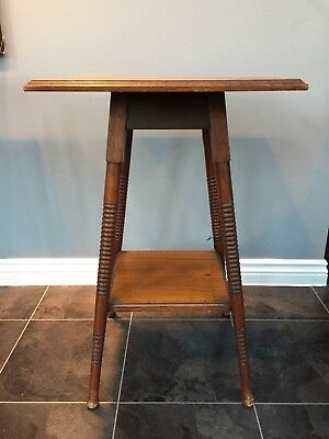 Antique Edwardian Mahogany Plant Stand Antiques