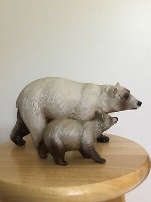 Breyer Web Sr #711108 Kodiak And Denali Momma Bear And Cub Set