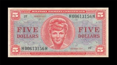 1964 Mpc United States $5 **series 611** (( Ef+ ))