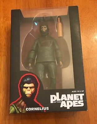 Rare Neca Planet Of The Apes Cornelius Action Figure