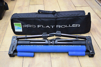 Preston Pro flat pole roller with bag