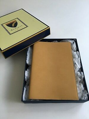 Aspinal Of London leather notbook