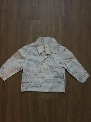 Baby Boys BNWT Monsoon Shirt Age 6-12 Months
