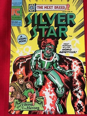 Silver Star #1 (Pacific Comics 1983) Jack Kirby Story & Art, 1st Issue!