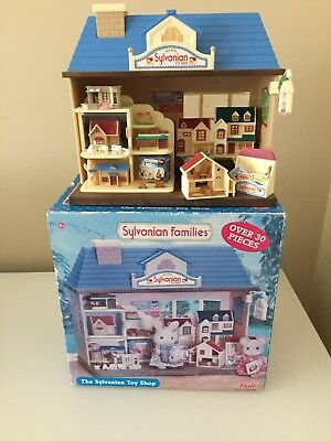 Discontinued Sylvanian Families 'The Sylvanian Toy Shop' - Boxed