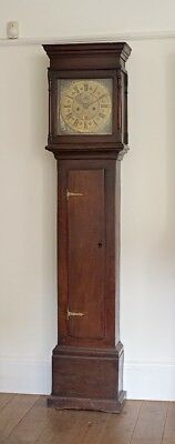 Rare Early 8-Day Longcase Grandfather Clock,  c1720s.