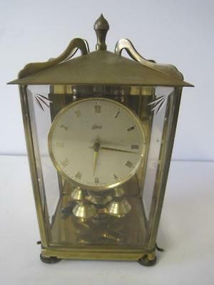 Vintage Schatz 400 Day Carriage Anniversary Clock Made in Germany For Repair
