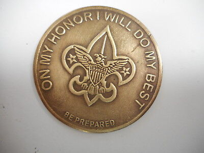 Boy Scout ON MY HONOR I WILL DO MY BEST  Coin - Token Good Turn (deeds) pocket