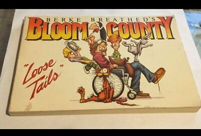"""Bloom County """"Loose Tails"""" signed by Berke Breathed"""