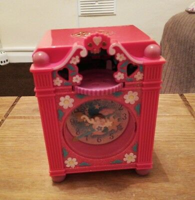 Vintage Polly Picket Funtime Clock 1991. 99%  Complete