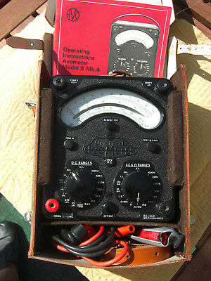 Vielfachmessgerät / Multimeter Avometer Model 8 Mk.4 TOP