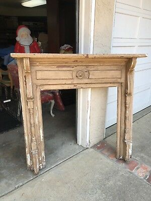 Fireplace Mantel - Antique wanna be with Personality PLUS!