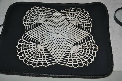Vintage Hand Crocheted Doilie Ivory Cotton