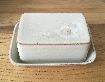 DENBY Daybreak Butter Dish With Lid
