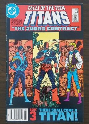 Tales of the Teen Titans #44 (Jul 1984, DC) Nightwing Deathstroke Nice copy