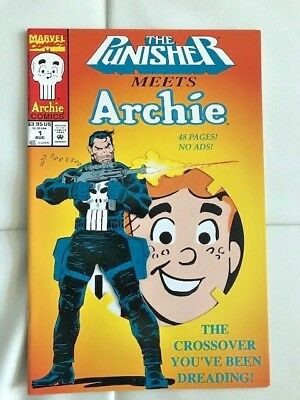 The Punisher Meets Archie & Archie Meets The Punisher (Aug 1994, Marvel) NM