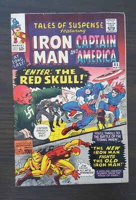 Tales of Suspense #65 (May 1965, Marvel) Silver Age Red Skull beautiful copy