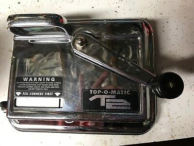Used Top-O-Matic Cigarette Rolling Machine T2