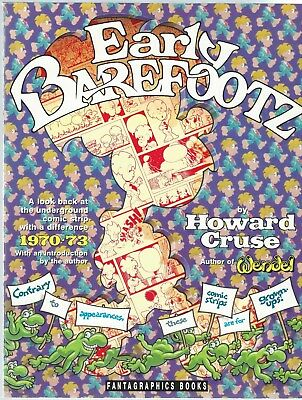 Early Barefootz Howard Cruse Fantagraphics Books 1990 Paperback Good Condition