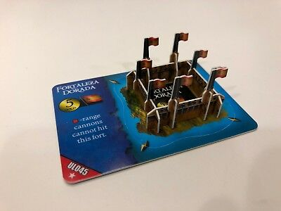 Fortaleza Dorada Fort from WizKids Pirates of the Revolution