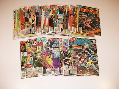 DC comics mixed lot of 36 books bronze, copper age  all listed  (L3)