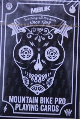 MBUK mountain bike pro playing cards