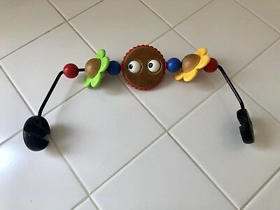 Baby Bjorn Wooden Toy for Baby Bouncer (Googly Eyes)