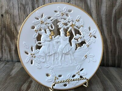 Lenox The Three Kings Fine Porcelain The First Christmas Collection 1994