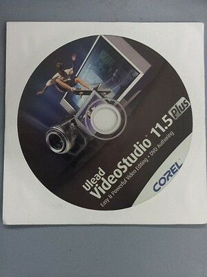 Corel Ulead Videostudio 11.5 Plus Creative Video Editing Win 7, 8, 10