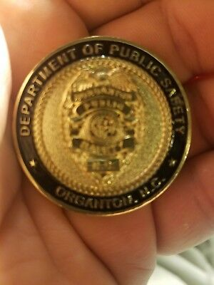 Police & Fire Safety  PROUD to SERVE city of Morganton Trade Token