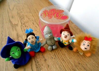 The Wizard of Oz Set of 5 Plush Toys + Container - Vintage Turner Entertainment