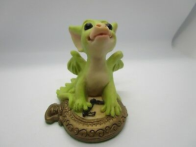 "1995 Rm Whimsical World Of Pocket Dragons ""making Time For You"" Retired"