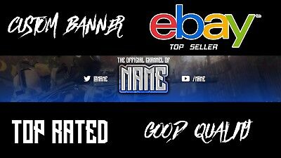 Youtube Banner (Logo Icluded) (Custom)( The Best Price) ( Fast )