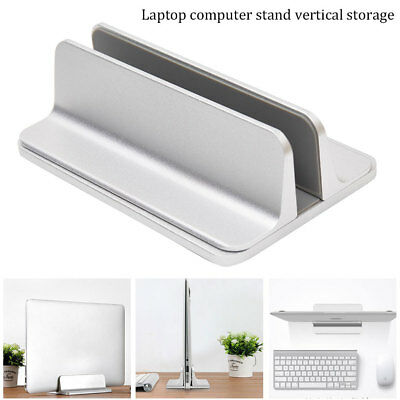 Vertical Laptop Stand Adjustable Desktop Holder Erected Space-Saving Desktop AU