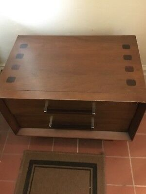 SALE-Vintage Mid-Century Modern Lane Night Stand Or End Table