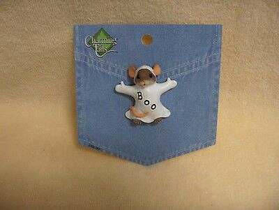 Charming Tails--Boo To You Lapel Pin