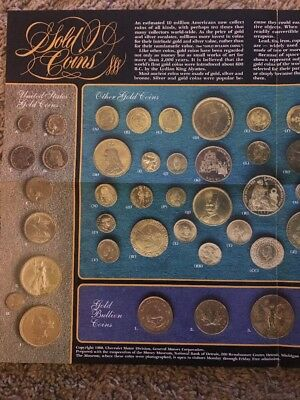American Vintage Gold Coin Poster Ad 1980