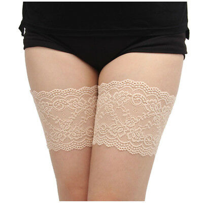 Women Summer Elastic Socks Anti-Chafing Thigh Bands Prevent Thigh Chafing S J7H7