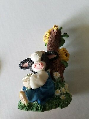 "Enesco Mary's Moo Moos 1997 ""A Message  for Moo"" - 319430"