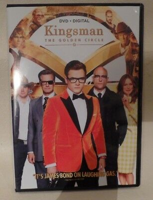 Kingsman The Golden Circle, Dvd, No Digital