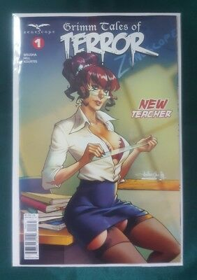 Grimm Fairy Tales Tales Of Terror Vol 4 #1 Cover C Zenescope Nm