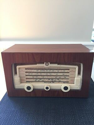 Collectable Vintage AWA RADIOLA TUBE / VALVE RADIO
