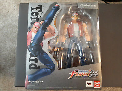 BANDAI Tamashii Nations D-Arts King of Fighters 94 Terry Bogard figure (USED)