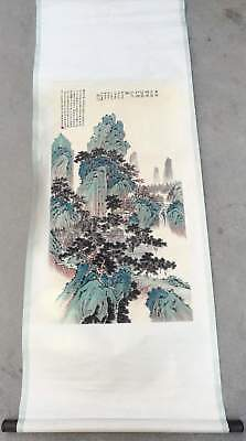 Excellent Chinese Hanging Painting & Scroll Landscape By Zhang Daqian张大千