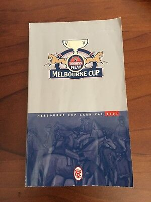 2001 Melbourne Cup Race Book (Ethereal)