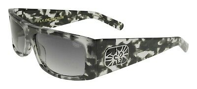 6e4a99a3ab5 BRAND NEW Black Flys Sunglasses FLY DETECTOR COOKIES N CREAM Gradient Smoke  LENS