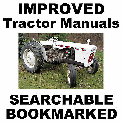 case david brown db tractors shop service manual 770 780 880 990