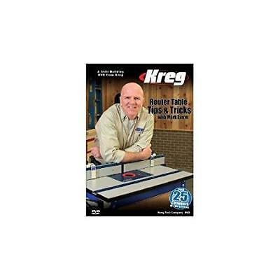Kreg Tool Company V09-DVD Kreg DVD-Router Table Tips and Tricks with Mark Eaton