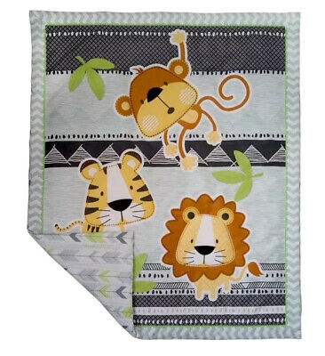 Living Textiles Jabali Reversible Cot Quilted Coverlet. Brand New.