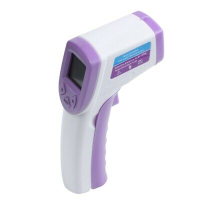 Digital LCD Non-contact IR Infrared Thermometer Forehead Body Temperature Met EL